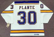 JACQUES PLANTE St. Louis Blues 1968 CCM Vintage Throwback Away NHL Hockey Jersey