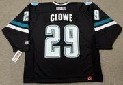 RYANE CLOWE San Jose Sharks 2006 CCM Throwback Alternate NHL Jersey
