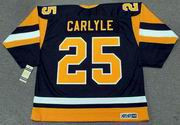 RANDY CARLYLE Pittsburgh Penguins 1984 CCM Vintage Throwback NHL Hockey Jersey