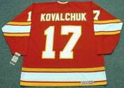 ILYA KOVALCHUK Atlanta Flames 1970&#039;s CCM Vintage Throwback NHL Hockey Jersey