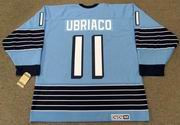 GENE UBRIACO Pittsburgh Penguins 1967 CCM Vintage Home NHL Hockey Jersey