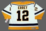 BOB ERREY Pittsburgh Penguins 1993 CCM Throwback Home NHL Jersey