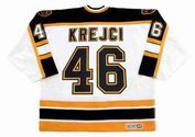 DAVID KREJCI Boston Bruins 2006 CCM Vintage Away NHL Hockey Jersey