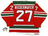 "SCOTT NIEDERMAYER New Jersey Devils 1992 CCM Vintage ""Rookie"" Away Jersey"