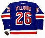 MARTIN ST. LOUIS New York Rangers REEBOK Premier Home NHL Hockey Jersey