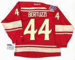 "TODD BERTUZZI Detroit Red Wings Reebok 2014 ""Winter Classic"" NHL Hockey Jersey"
