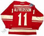 """DANIEL ALREDSSON Detroit Red Wings Reebok 2014 """"Winter Classic"""" NHL Hockey Jersey"""