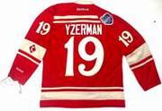 """STEVE YZERMAN Detroit Red Wings Reebok 2014 """"Winter Classic"""" NHL Jersey"""