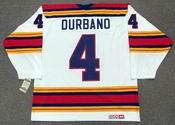 STEVE DURBANO Kansas City Scouts 1975 CCM Vintage Throwback Home NHL Jersey