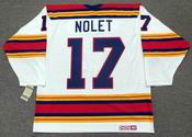 SIMON NOLET Kansas City Scouts 1975 CCM Vintage Throwback Home NHL Jersey