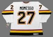 SERGIO MOMESSO Vancouver Canucks 1994 CCM Vintage Home NHL Hockey Jersey