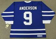 GLENN ANDERSON Toronto Maple Leafs 1991 CCM Vintage Throwback NHL Jersey