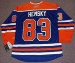ALES HEMSKY Edmonton Oilers REEBOK Home NHL Hockey Jersey