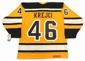 "DAVID KREJCI Boston Bruins 2010 CCM Vintage ""Winter Classic"" NHL Hockey Jersey"
