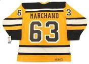 "BRAD MARCHAND Boston Bruins 2010 CCM Vintage ""Winter Classic"" NHL Hockey Jersey"