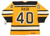 "TUUKKA RASK Boston Bruins 2010 CCM Vintage ""Winter Classic"" NHL Hockey Jersey"