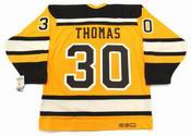 "TIM THOMAS Boston Bruins 2010 CCM Vintage ""Winter Classic"" NHL Hockey Jersey"