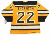 "SHAWN THORNTON Boston Bruins 2010 CCM Vintage ""Winter Classic"" NHL Hockey Jersey"