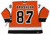 DONALD BRASHEAR Philadelphia Flyers 2003 CCM Throwback Alternate NHL Jersey
