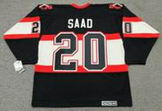 BRANDON SAAD Chicago Blackhawks 1930's CCM Vintage NHL Hockey Jersey