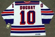 RON DUGUAY New York Rangers 1981 CCM Vintage Throwback Home NHL Hockey Jersey