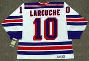PIERRE LAROUCHE New York Rangers 1983 CCM Vintage Home NHL Hockey Jersey