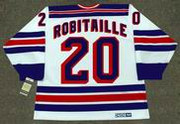 LUC ROBITAILLE New York Rangers 1995 CCM Vintage Home NHL Hockey Jersey