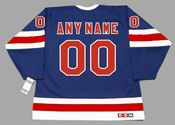 "NEW YORK RANGERS 1930's CCM Vintage Jersey Customized ""Any Name & Number(s)"""