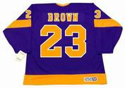 DUSTIN BROWN Los Angeles Kings 1970's CCM Vintage Throwback NHL Hockey Jersey