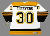 GERRY CHEEVERS Boston Bruins 1960's CCM Vintage Throwback Away NHL Hockey Jersey