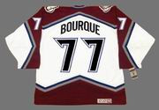 RAYMOND BOURQUE Colorado Avalanche 2001 CCM Vintage Home NHL Hockey Jersey