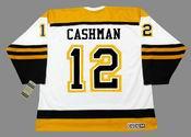 WAYNE CASHMAN Boston Bruins 1960's CCM Vintage Throwback Away NHL Hockey Jersey