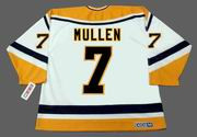 JOE MULLEN Pittsburgh Penguins 1994 CCM Throwback Home NHL Jersey