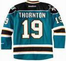 JOE THORNTON San Jose Sharks 2012 REEBOK Home NHL Hockey Jersey