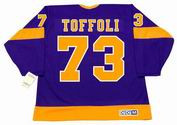 TYLER TOFFOLI Los Angeles Kings 1970's CCM Vintage Throwback NHL Hockey Jersey