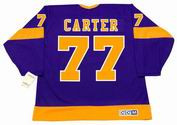 JEFF CARTER Los Angeles Kings 1970's CCM Vintage Throwback NHL Hockey Jersey