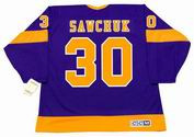 TERRY SAWCHUK Los Angeles Kings 1967 CCM Vintage Away NHL Hockey Jersey