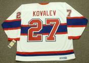 ALEX KOVALEV Montreal Canadiens 1946 CCM Vintage Throwback NHL Hockey Jersey