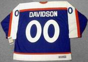 JOHN DAVIDSON New York Rangers 1978 CCM Vintage Throwback NHL Hockey Jersey