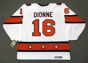 "MARCEL DIONNE 1980 CCM Vintage Throwback NHL ""All Star"" Hockey Jersey"