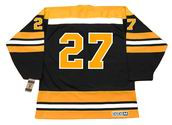 REGGIE LEACH Boston Bruins 1971 CCM Vintage Throwback Away NHL Hockey Jersey