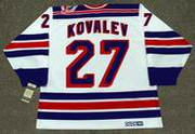 ALEX KOVALEV New York Rangers 1994 CCM Vintage Throwback NHL Hockey Jersey