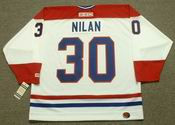 CHRIS NILAN Montreal Canadiens 1986 CCM Throwback Home NHL Jersey
