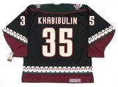 NIKOLAI KHABIBULIN Phoenix Coyotes 1997 CCM Vintage Throwback NHL Hockey Jersey