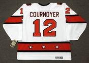 "YVAN COURNOYER 1973 CCM Vintage Throwback NHL ""All Star"" Hockey Jersey"