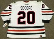 AL SECORD Chicago Blackhawks 1983 CCM Throwback Home NHL Hockey Jersey