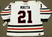STAN MIKITA Chicago Blackhawks 1975 CCM Throwback Home NHL Hockey Jersey