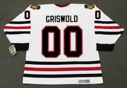 CLARK GRISWOLD Christmas Vacation Chicago Blackhawks CCM Vintage Hockey Jersey