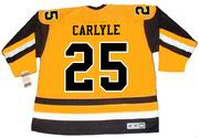 RANDY CARLYLE Pittsburgh Penguins 1981 CCM Vintage Throwback NHL Hockey Jersey