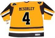 MARTY MCSORLEY Pittsburgh Penguins 1983 CCM Vintage Throwback NHL Hockey Jersey